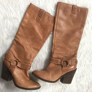 Lucky Brand Ethelda Buckle Strap Boots
